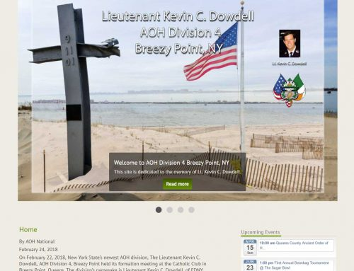 Lt. Kevin C. Dowdell AOH Div 4 Breezy Point, NY