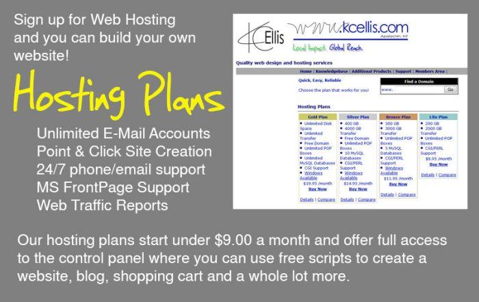 web hosting at KC Ellis