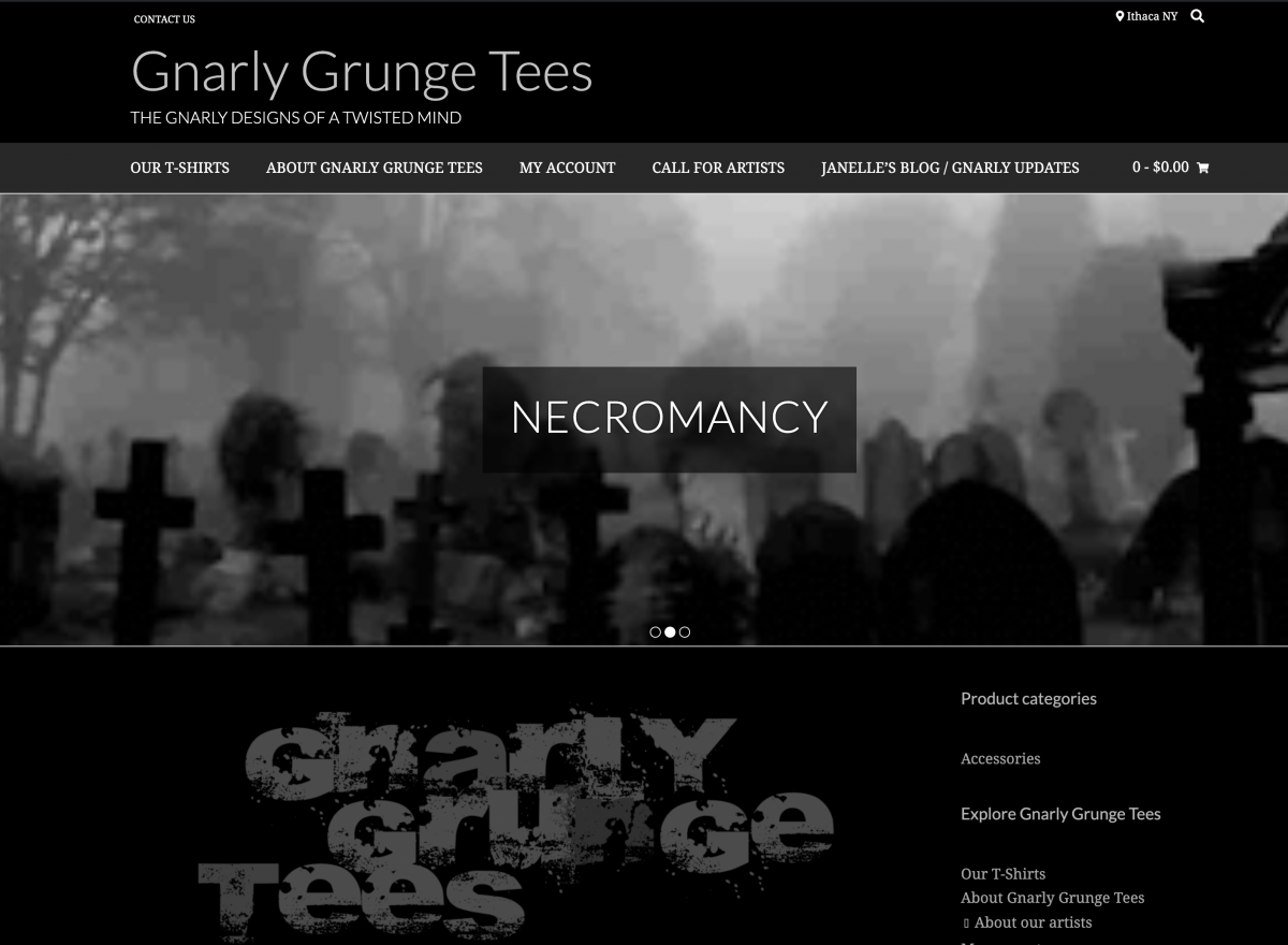 Gnarly Grunge Tees